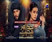 Khuda Aur Mohabbat - Season 3 Episode 19 [Eng Sub] - 18th June 2021<br/><br/>Farhad and Mahi hail from completely different economic and cultural backgrounds. Mahi, who comes from an influential family, must adhere to the conventions and requirements of her family's class despite her true jovial nature. Farhad on the other hand belongs to a small town and is instantly drawn to the charismatic Mahi and soon forsakes everything for her.<br/><br/>Though Mahi appreciates Farhad's efforts, she does not have the same feelings for him. In the quest to win Mahi's heart, Farhad finds himself forming a special bond with his creator and becomes a devotee of love. In this classic love story two star-crossed souls struggle to fight for their love. Will destiny bring them together? Will the boundaries of class and society be broken? Or is Farhad destined to live the life of a devotee