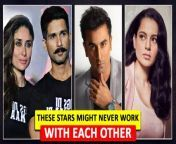 Here we bring some Bollywood famous celebs who have decided to never work again with each other due to the rough patch hit their relationship. Well the list has stars like Salman Khan-Aishwarya Rai to Shah Rukh Khan- Priyanka Chopra Jonas and the list continues...Check out the video to know the whole story.<br/>