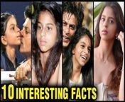 Suhana Khan, the darling daughter of King Khan Shah Rukh Khan and Gauri Khan, is one of Bollywood's most talked-about star kids. Let's take a look at some of the intriguing and hidden facts about King Khan's daughter ahead of her Bollywood debut.<br/>