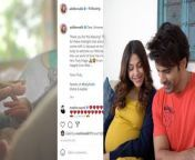 Aditi Malik and Mohit Malik recently welcomed their first child- a baby boy! The couple shared the the good news on their social media by sharing a glimpse of the baby; take a look!<br/><br/>#Aditimalik #Mohitmalik #Babyboy